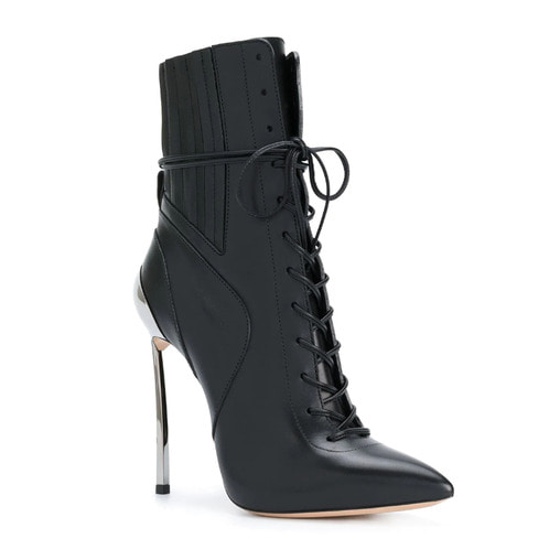Techno Blade laceup ankle boots