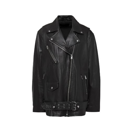 Odd leather biker jacket